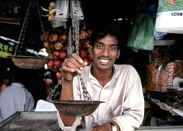 Продавцы на Шри-Ланке